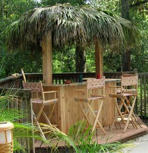 Backyard Tiki Bar OMG John Can Totally Build This!