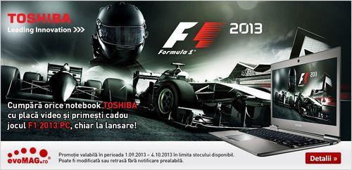 Cadou jocul F12013 pentru PC