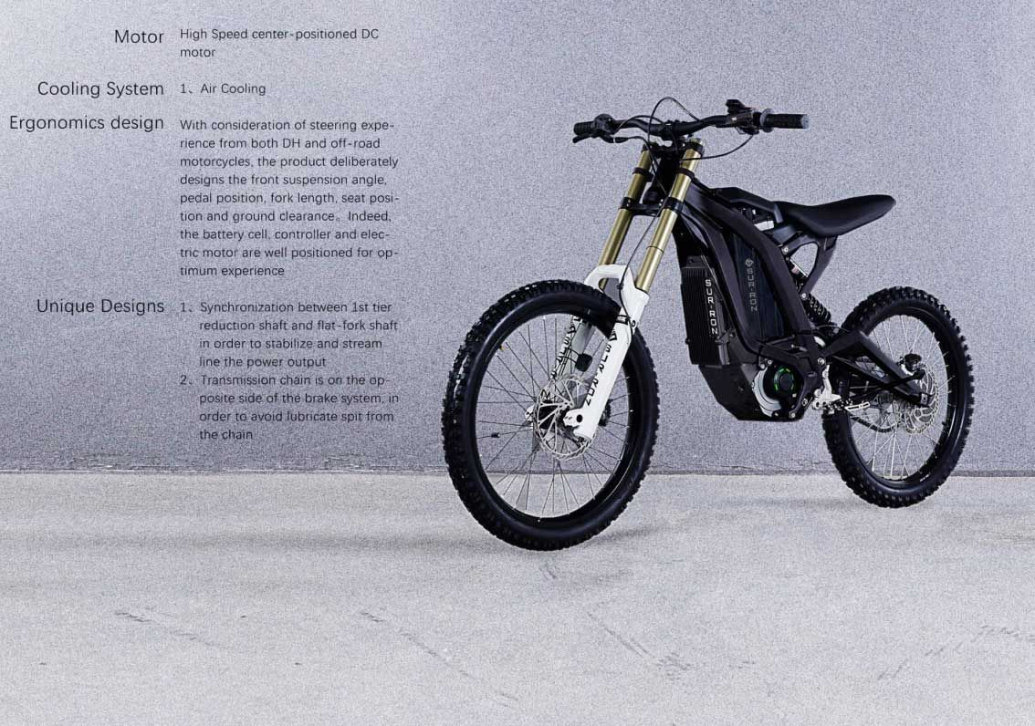 Sur Ron Electric Motorcycle Pictures Video And Information Cars