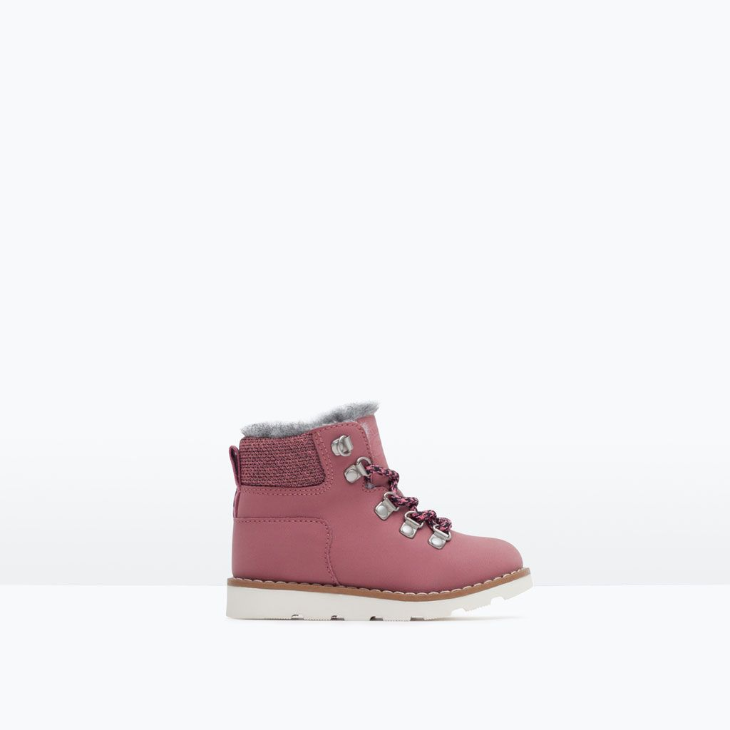 ZARA - KIDS - LINED MOUNTAIN BOOTS (con imágenes ...