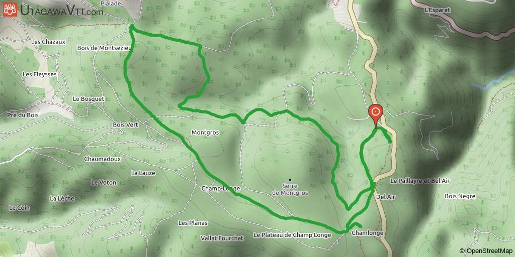 [Ardèche] Domaine nordique de La Chavade Cet itinéraire suit les pistes de ski de fond de la station de la Chavade (Ardèche). Celui-ci est une proposition parmi toutes les combinaisons possibles sur le site. Idéal avec des enfants puisque l'on peut allonger ou raccourcir la boucle en fonction des capacités de chacun.