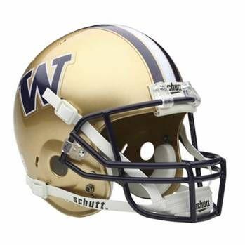 University Of Washington Huskies Football Game Helmet College Football Helmets Football Helmets Washington Huskies Football