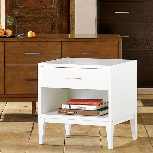 Narrow Leg End Table White Or We Do White End Tables And A
