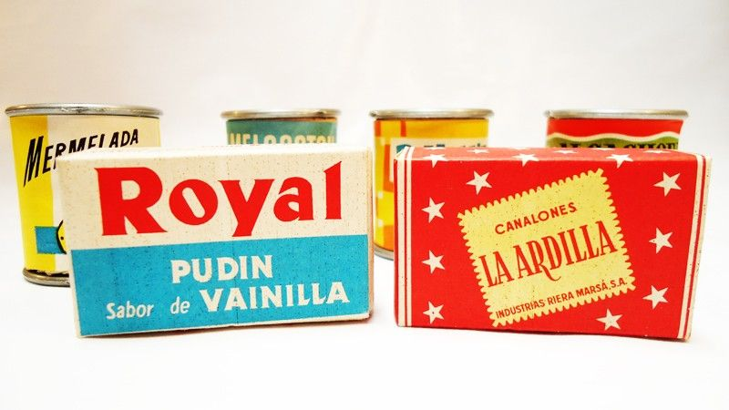 Vintage Toy Supermarket Play Set. 60s
