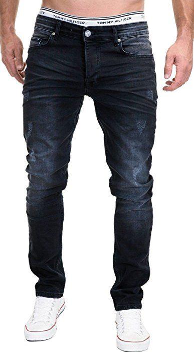 Jeans Slim fit in Schwarz