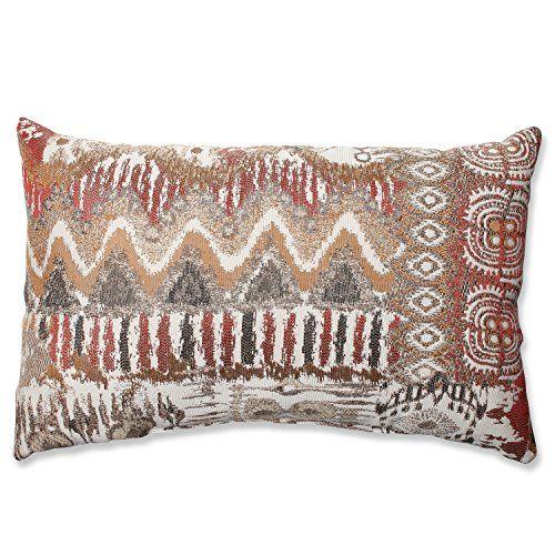 Pillow Perfect Medley Rectangular Throw Pillow Bronze Amazon