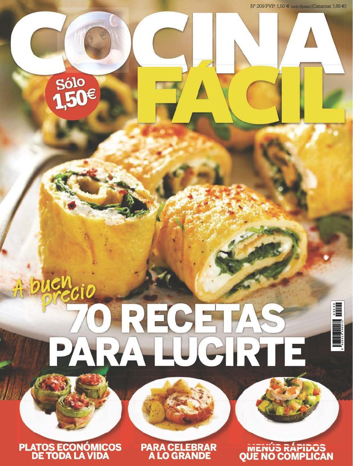 Cocina f cil n 209 mayo 2015 revistas de cocina cooking - Ana cocina facil ...