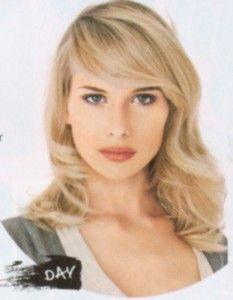 shoulder length blonde with long