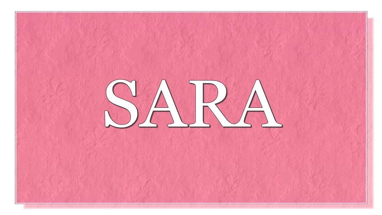 Meaning of the name Sara.What is the meaning of the name ...