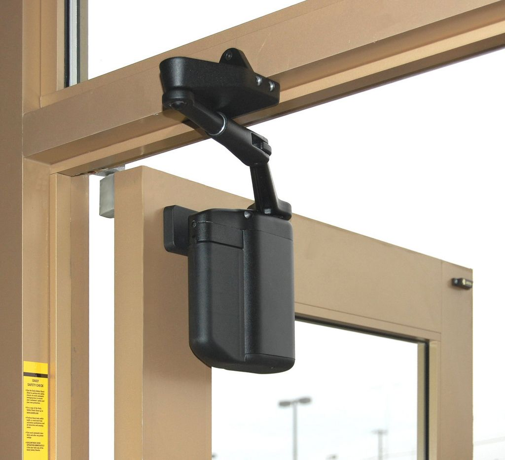 Ian Thompson The Adaez Pro Is A Self Charging Automatic Door