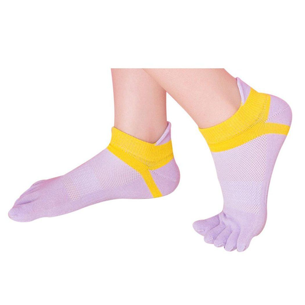 6 Pairs Five Toes Breathable Socks - Women Lightweight No
