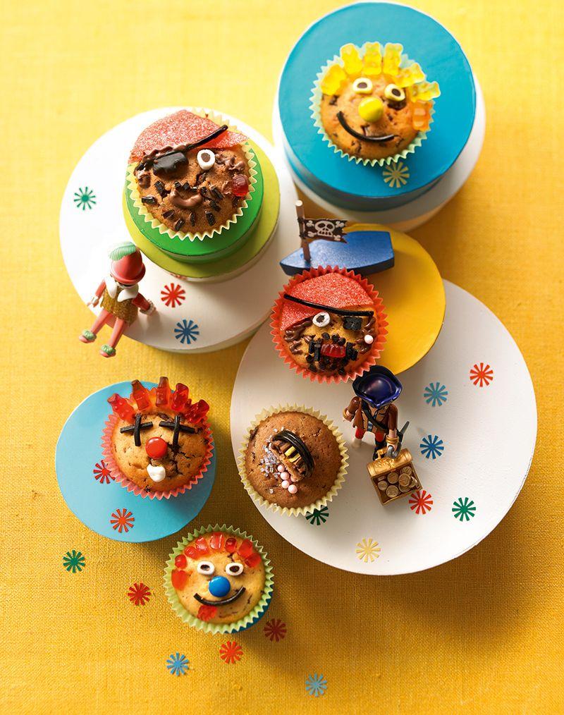 karneval muffins rezept cupcakes. Black Bedroom Furniture Sets. Home Design Ideas