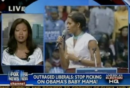 """The use of words """"Obamas baby momma"""" signifies the undertone racism in this Fox News segment. President Obama is a accomplished successful and intelligent African American man with a driven and beautiful African American family. Terms such as """"baby momma"""" refers to a ghetto less educated almost trampy lifestyle. It is no secret media outlets like to amplify these presumptions when """"black topics"""" come into play. But discriminating against the First Family of the United States shows if they…"""