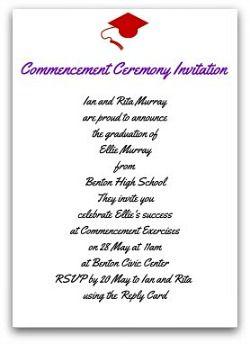 Graduation invitation etiquette ceremony invitation invite graduation invitation etiquette ceremony invitation filmwisefo