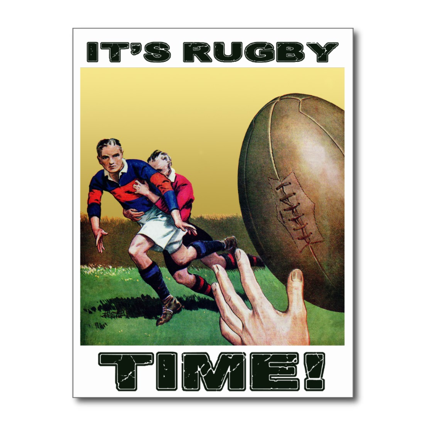 It S Rugby Time Postcard Http Www Zazzle Com Its Rugby Time Postcard 239474437610189187 Rugby Postcard Sport Rugby Time Rugby Poster Rugby Images
