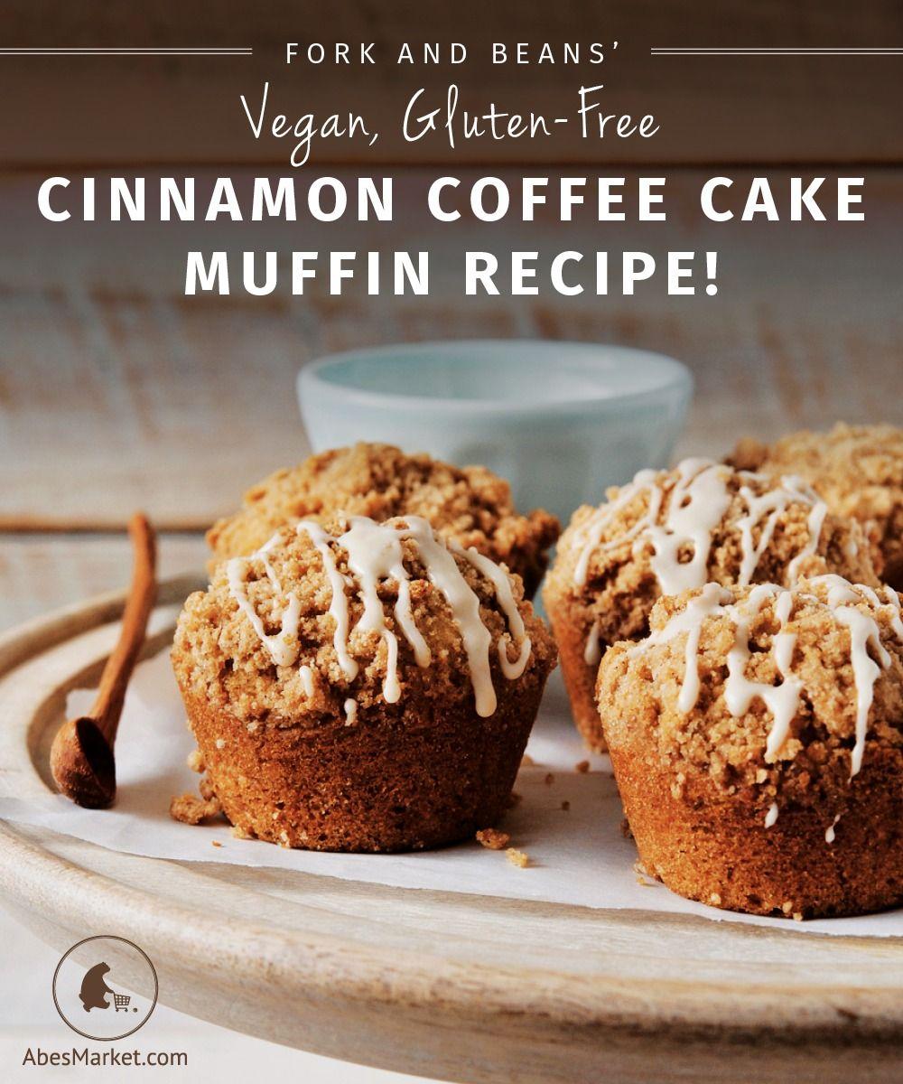 Vegan Gluten Free Cinnamon Coffee Cake Muffin Recipe From Decadent Gluten Free Vegan Baking Coffee Cake Muffin Recipes Vegan Baking Vegan Sweets
