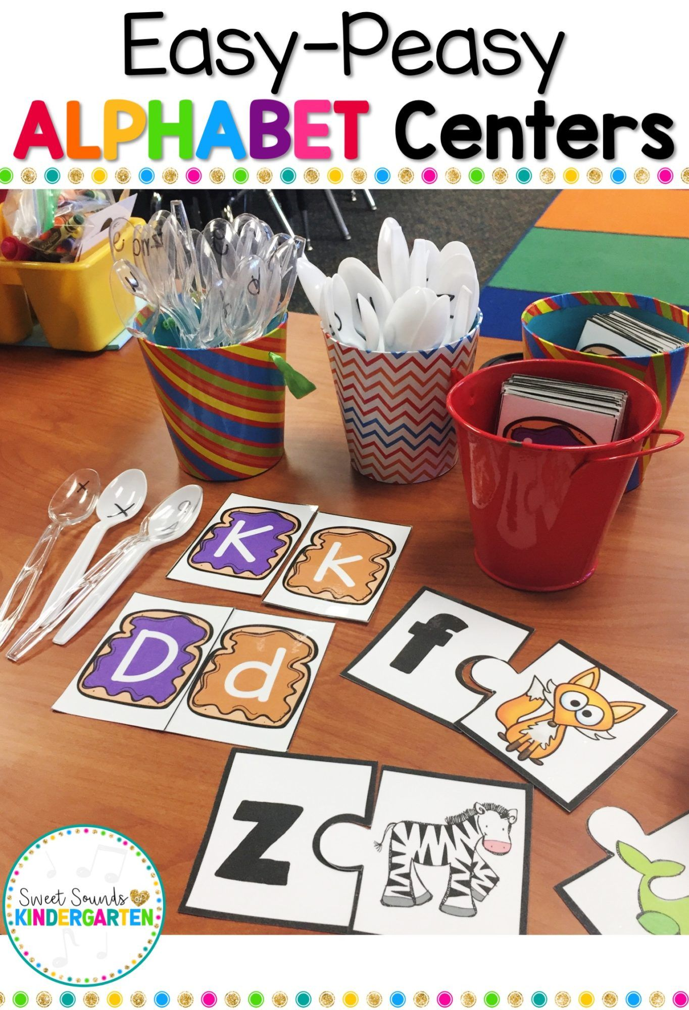 Easy Peasy Alphabet Centers