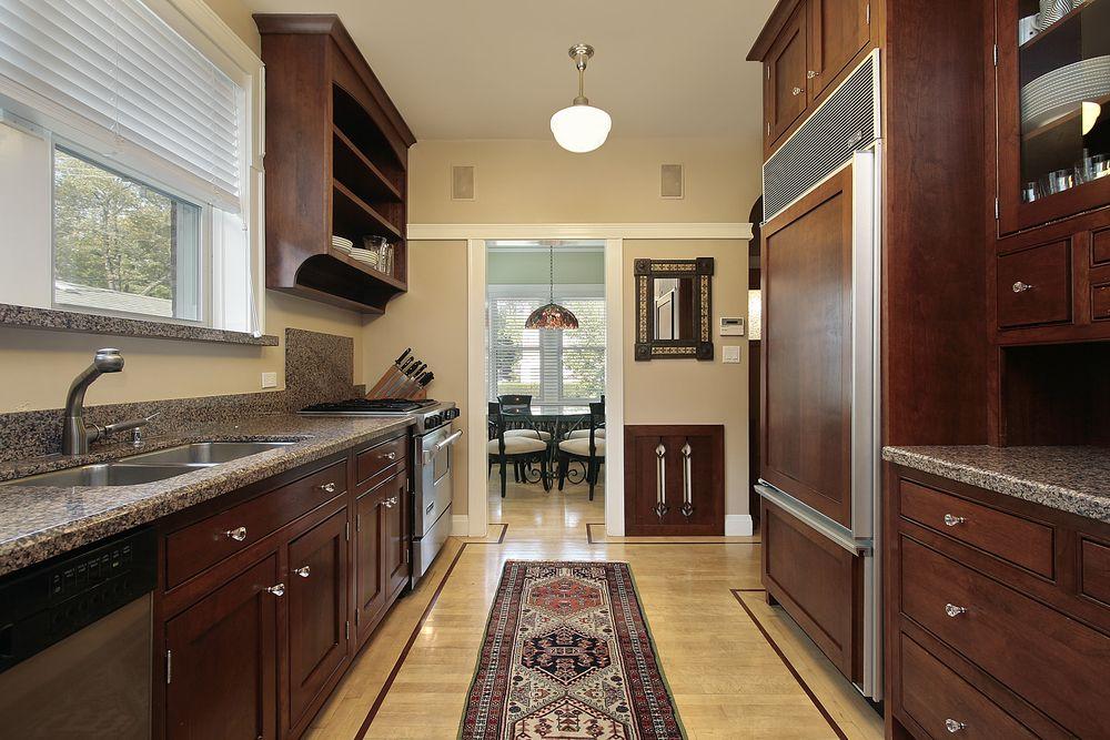 45 Galley Kitchen Layout Ideas Photos Galley Kitchen Design