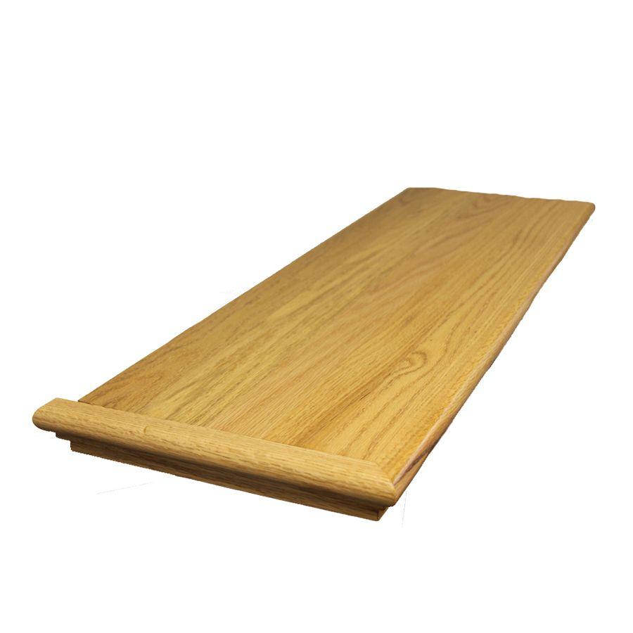 Stairtek Retrotread 11 5 In X 48 In Natural Prefinished Red Oak | Wood Stair Treads Lowes | Outdoor Stair | Deck | Stair Stringer | Handrail | Flooring