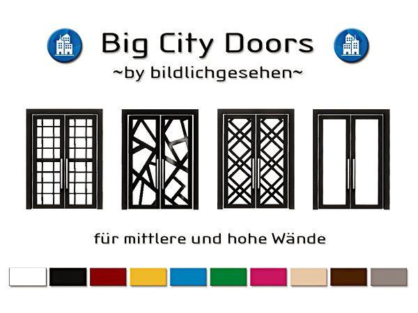 Moin Ihr Lieben, heute habe ich neue Türen in 4 verschiedenen ...