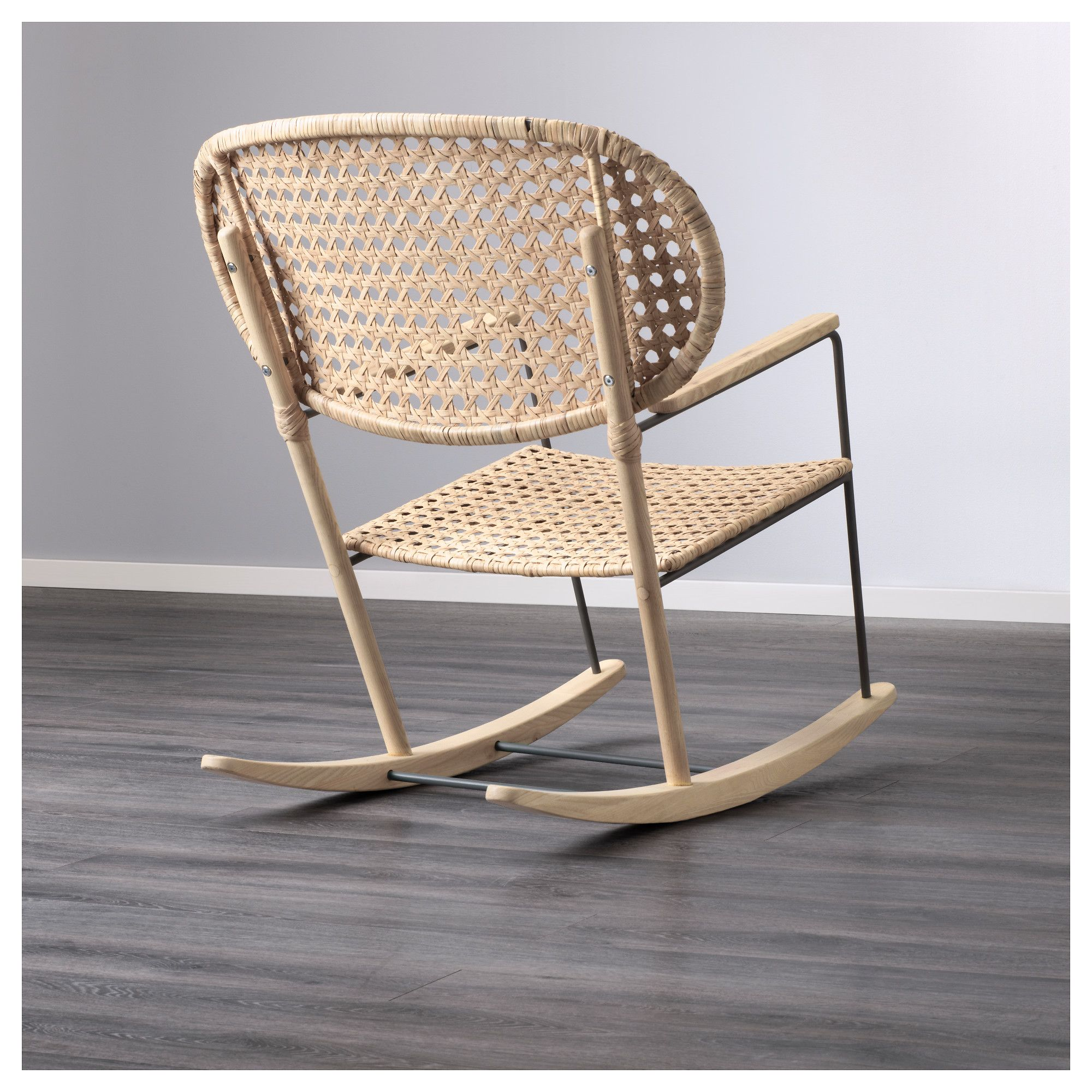 Ikea Gronadal Rocking Chair Gray Natural In 2018 70s Resort