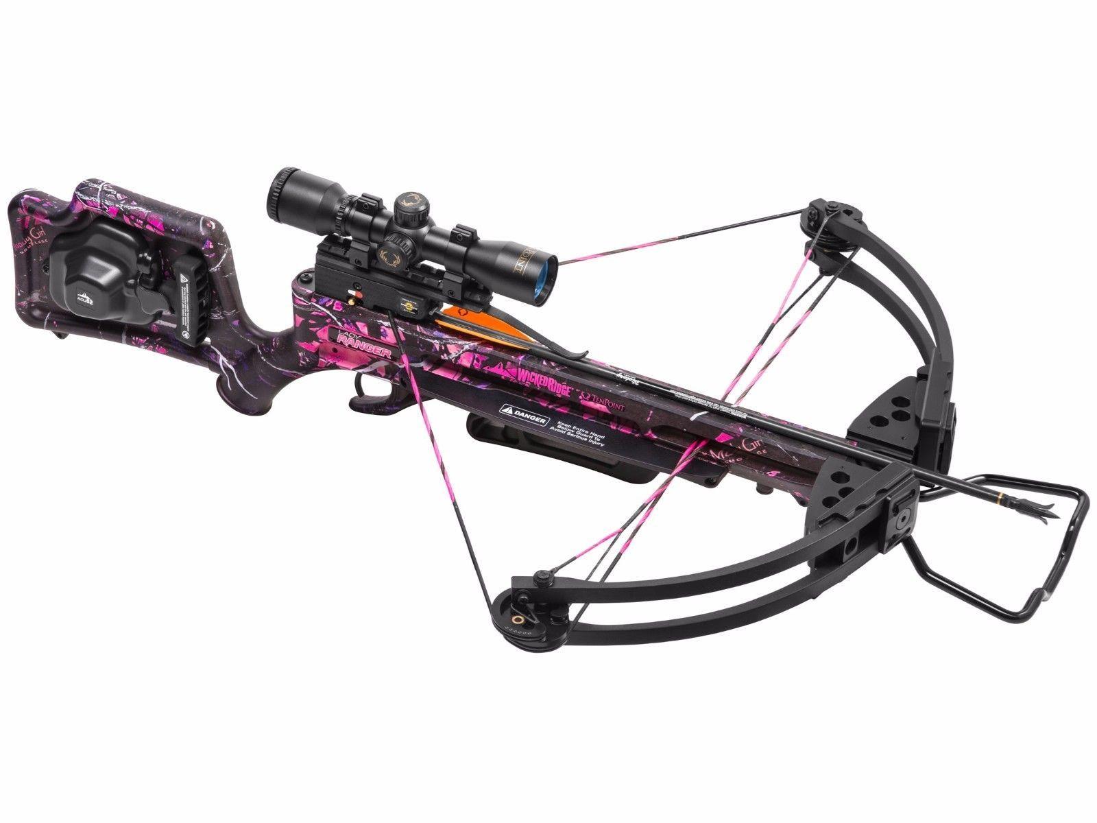 Wicked Ridge by TenPoint Lady Ranger Premium Crossbow with 3x Scope 2726062