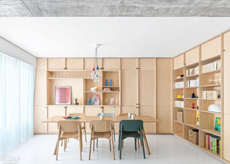 Sabo Project Renovates A Paris Duplex Apartment Perfect For A Family And A Feline Apartment Renovation Apartment Design Modern Apartment