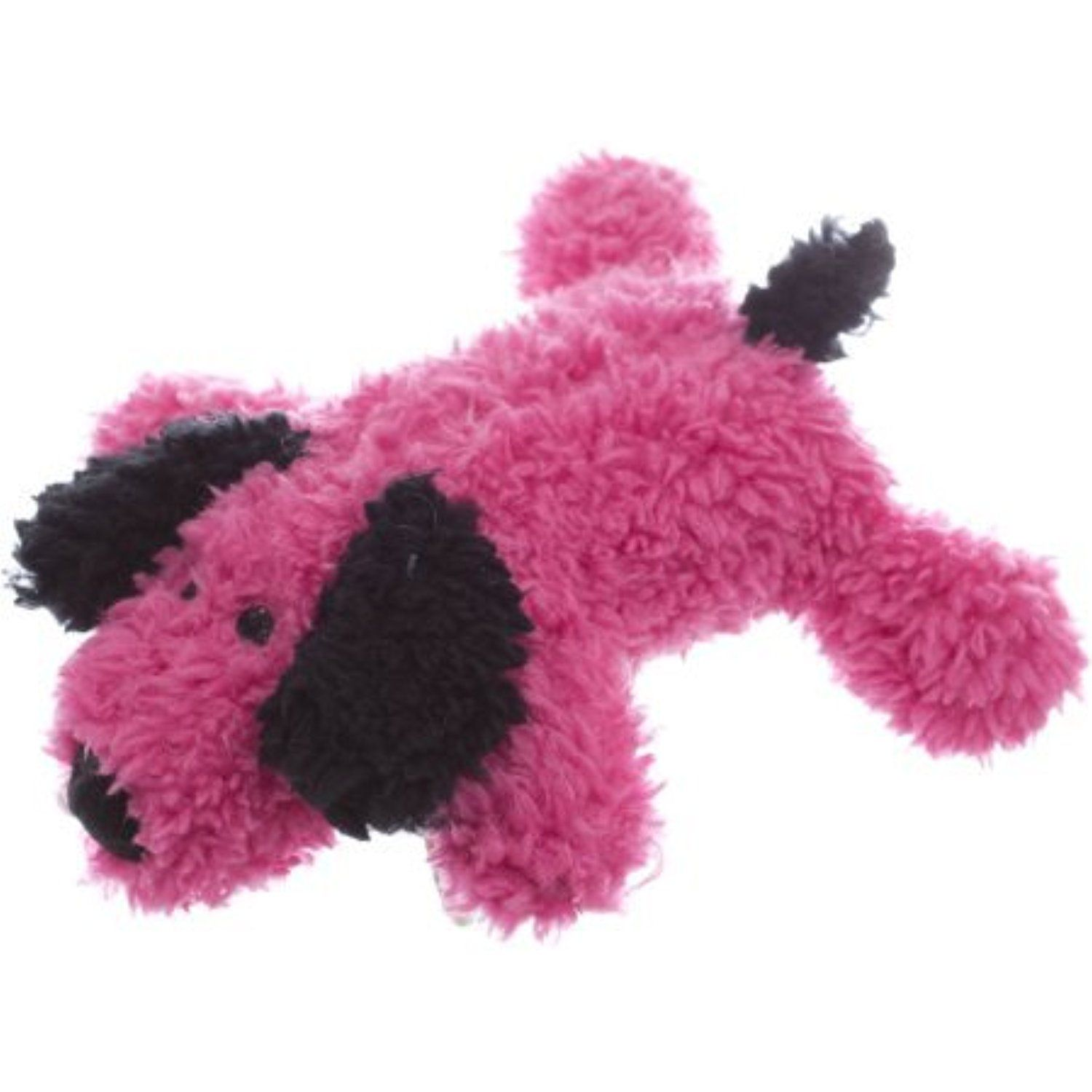 6 5 Super Soft Squeaky Plush Dog Toy Hot Pink Puppy You Can