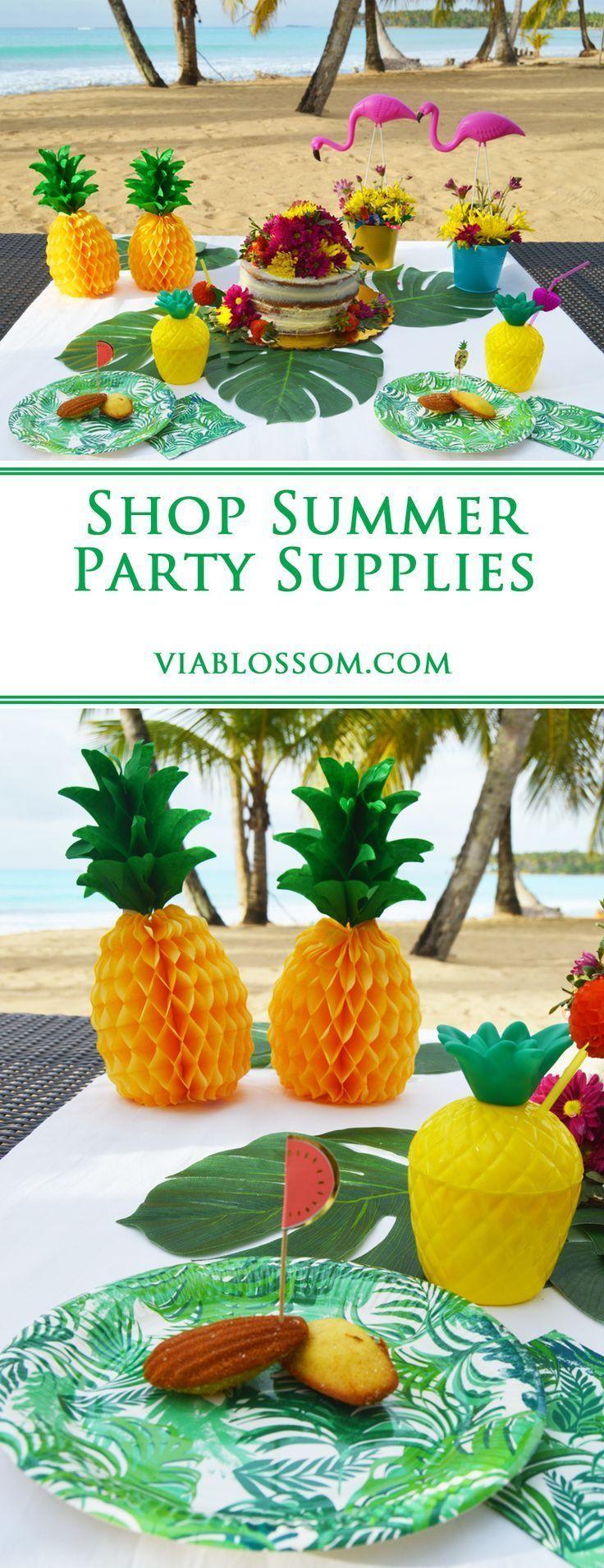 summer | party | pineapple | flamingo | decorations | tutti frutti | birthday | tropical