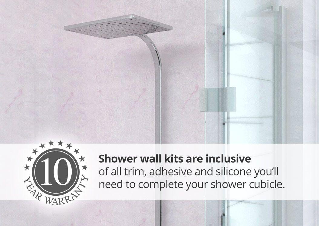 Proclad Shower Wall Panel Kits Shower Wall Kits Waterproof
