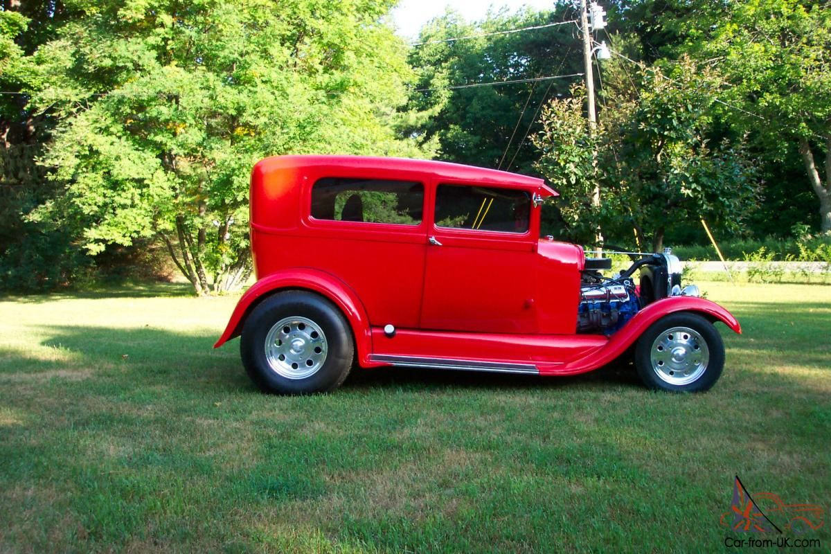 1929 Ford Model A Tudor Hot Rod w/455 Olds chopped top for sale ...