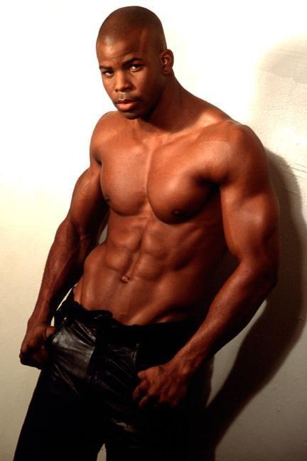 Black guy abs
