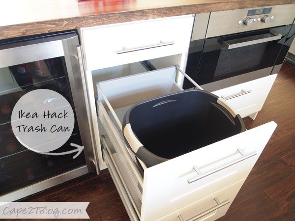 Organizing the Kitchen (part one) | Ikea hack, Kitchens and Drawer ...