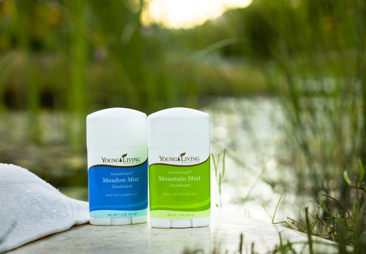 Aromaguard deodorants are the first natural deodorants
