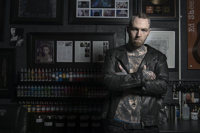 Kevin paul celebrity tattoos photographer advertising