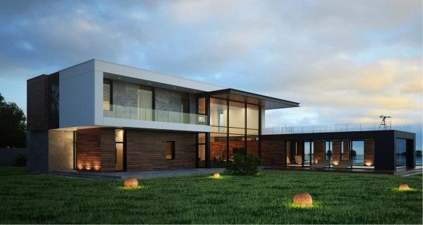 Modern Home Exteriors With Stunning Outdoor Spaces 16 02 Laiminu