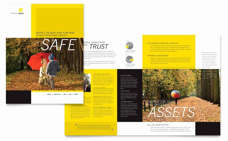 11x17 Tri Fold Brochure Template Inspirational Insurance