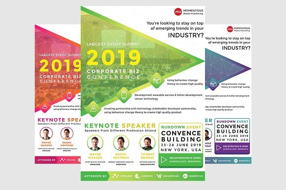 business event flyers