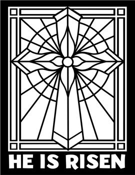 Free Easter Craft Stained Glass Art Stained Glass Art Stained Glass Patterns Free Stain Glass Cross
