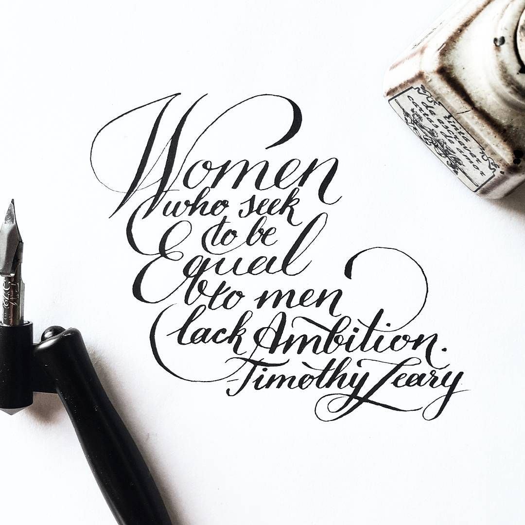 """""""Writing from a couple posts ago, as it happened #calligraphy #quote #lettering #bw #instaart #type #typography #goodtype #handlettered #handwritten…"""""""