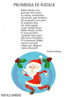 Storia Babbo Natale Bambini.Promessa Di Natale Natale Bambini Di Natale Natale Scuola Materna