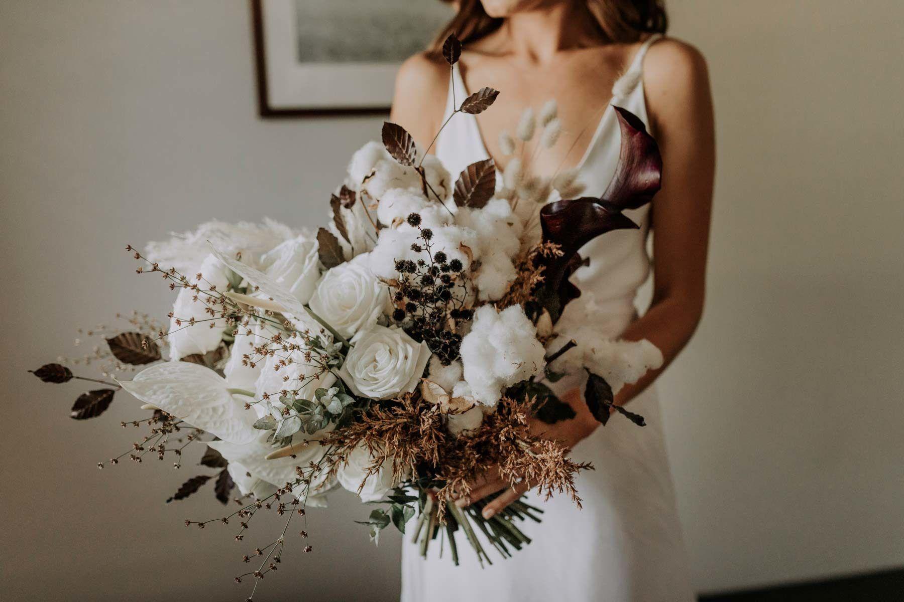 Rose Bud Creative Perth Wedding Florist Fresh Wedding Bouquets Floral Wedding Dried Flower Bouquet