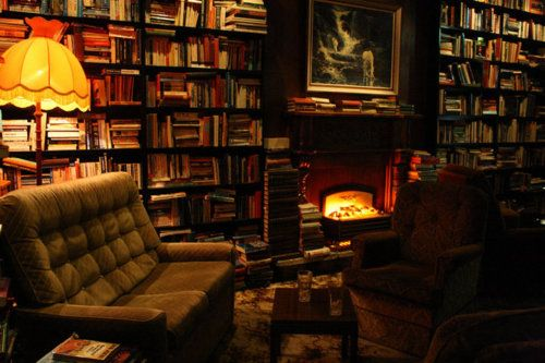 The Library reading room / lounge-bar  in Auckland