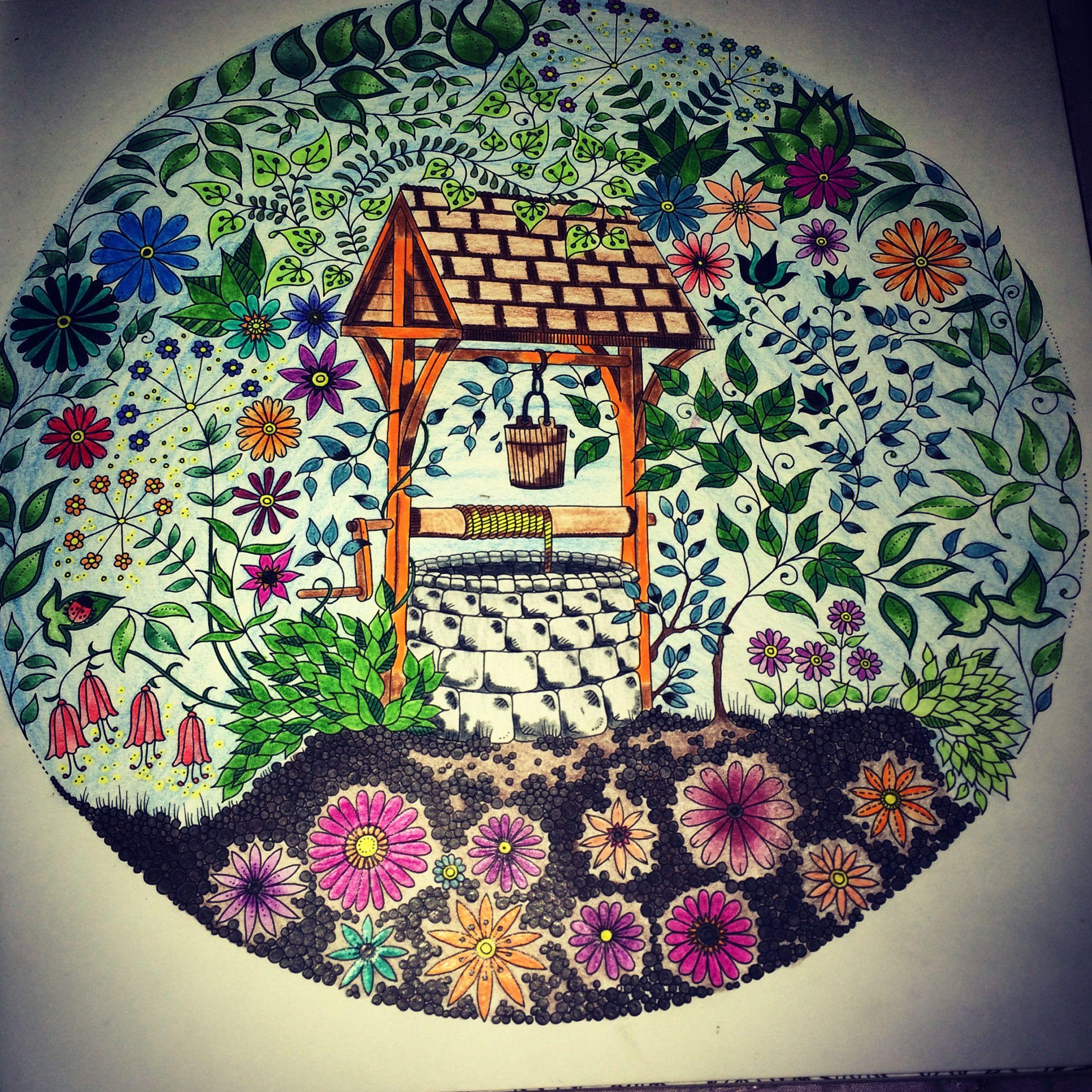 El Jardín Secreto De Johanna Basford Jardines Secretos El Jardin Secreto Libro Libros Para Colorear