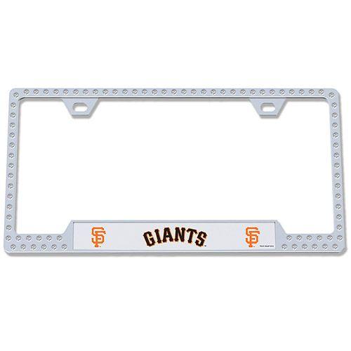 San Francisco Giants Bling License Plate Frame Mlb Com Shop