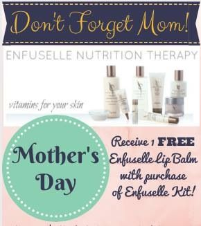 Vitamins for your skin!!! Love the way my skin looks and feels using Enfuselle!!