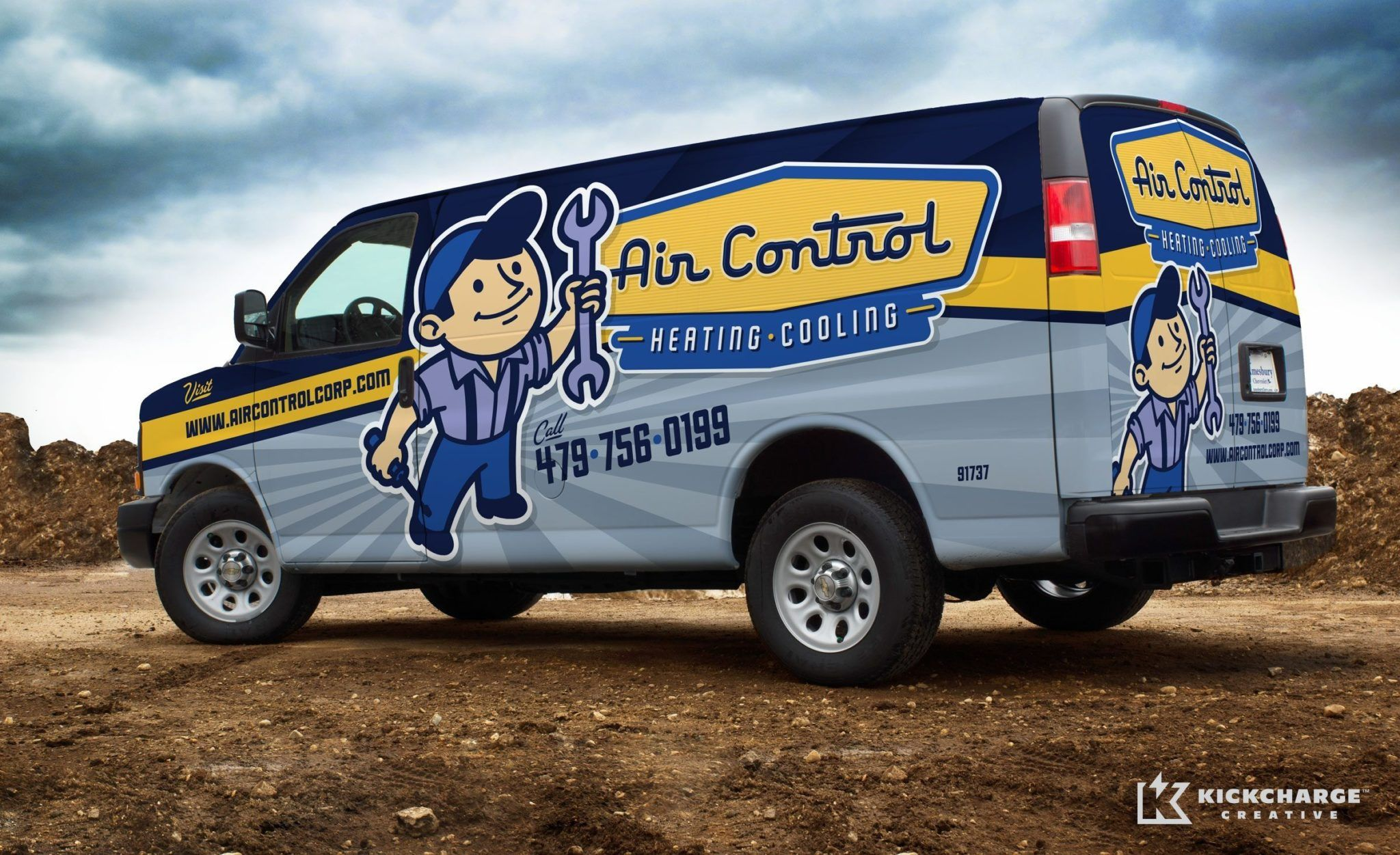 Air Control Heating Cooling Kickcharge Creative Cool Trucks