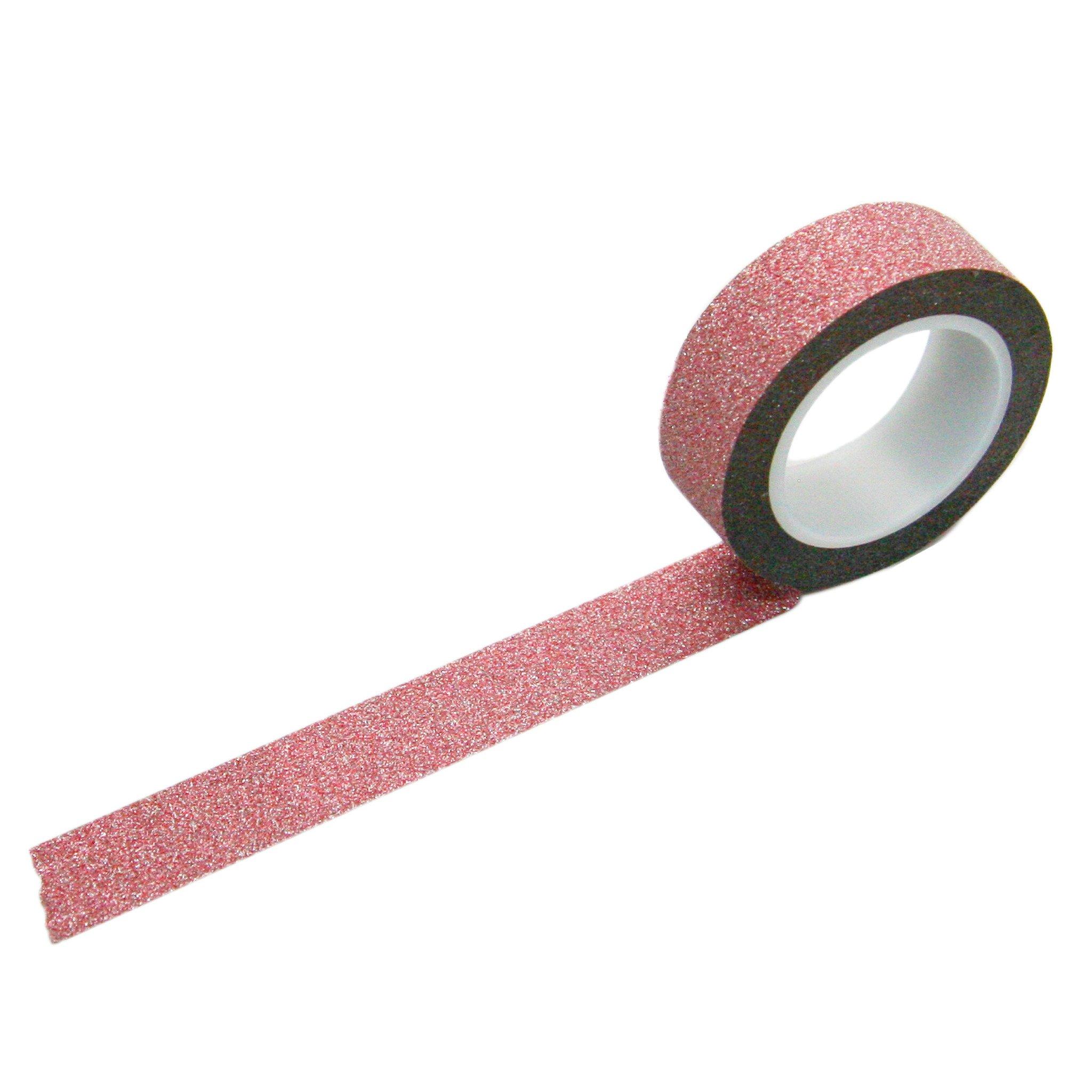 Pink /& Purple Stripe Washi Masking Paper Tape 15mm x 10 Metre Roll