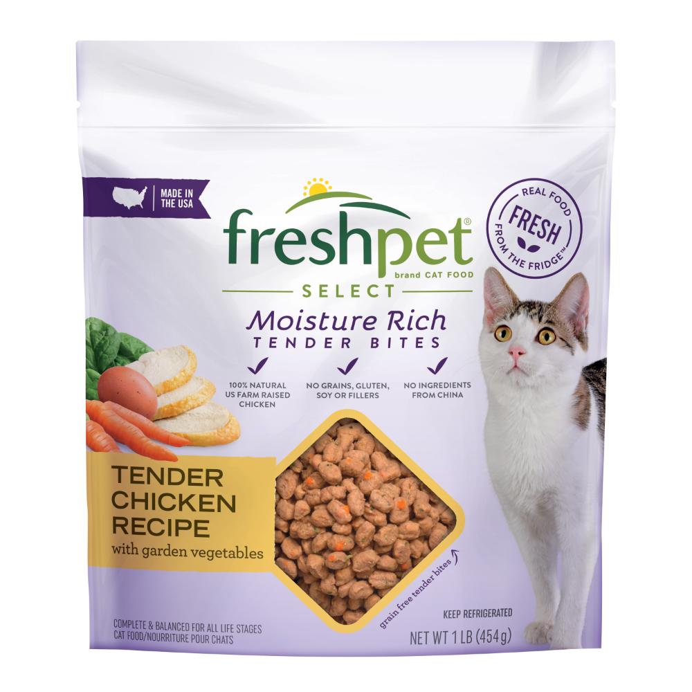 Freshpet Healthy Natural Cat Food Roll Chicken Recipe 1lb Walmart Com In 2020 Natural Cat Food Fresh Chicken Recipes Dog Food Recipes