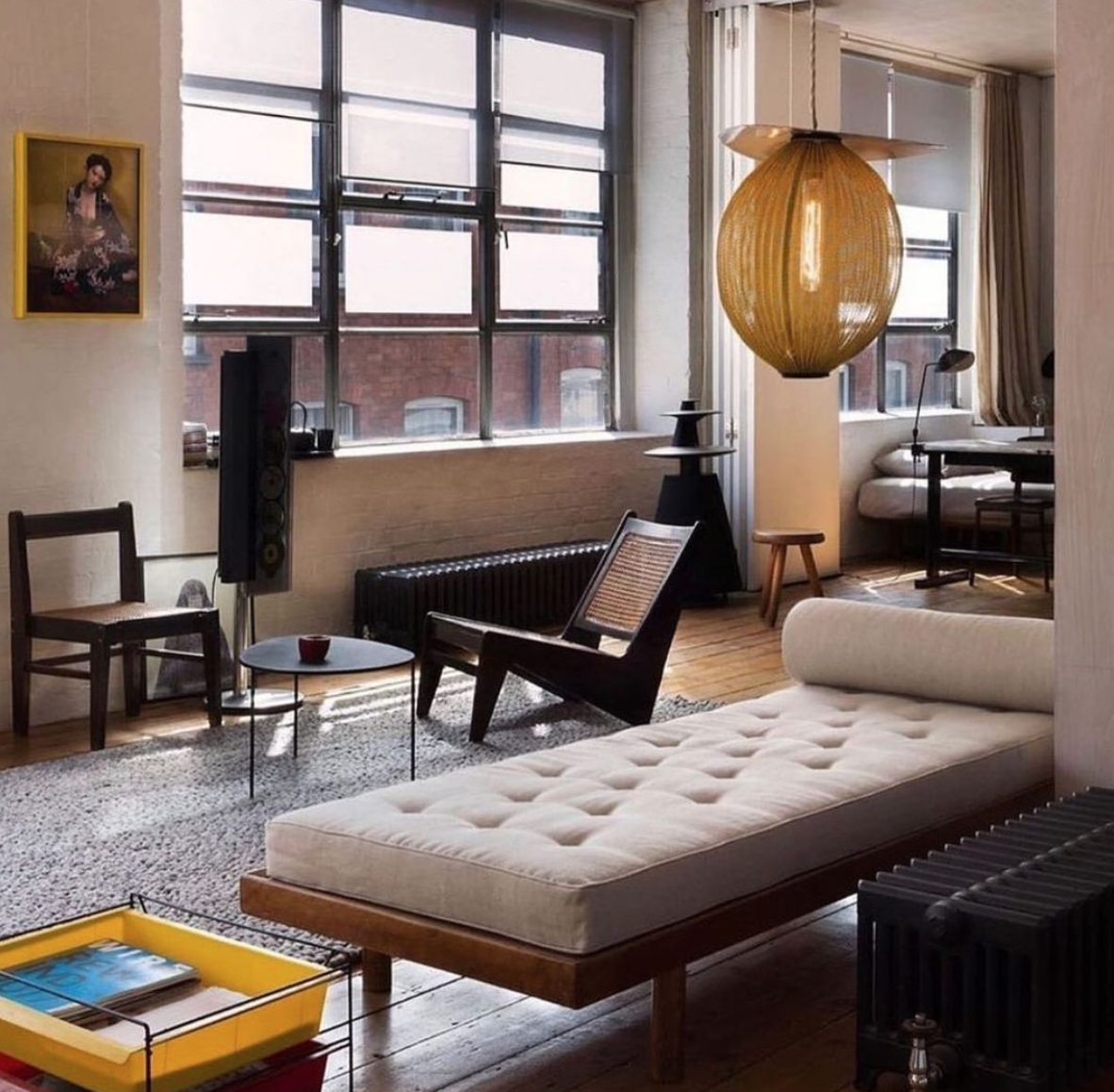 #interiors #interiordesign #design #frenchmodernism #midcenturymodern #architecture #homedecor #decor #lifestyle #instadaily #inspiration #pierrejeanneret #charlotteperriand #jeanprouve #lecorbusier